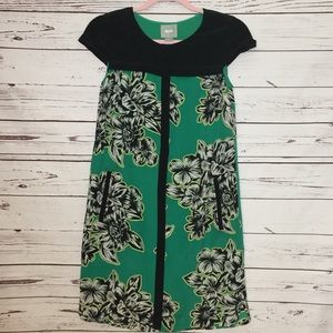 Maeve Anthropologie Silk Sheath Dress